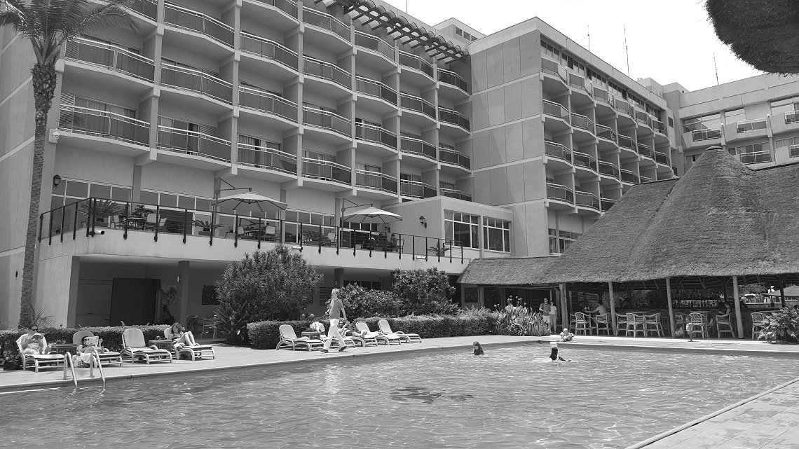 'The most famous hotel in Rwanda'