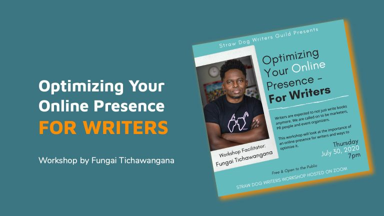 How to optimize your online presence as a writer