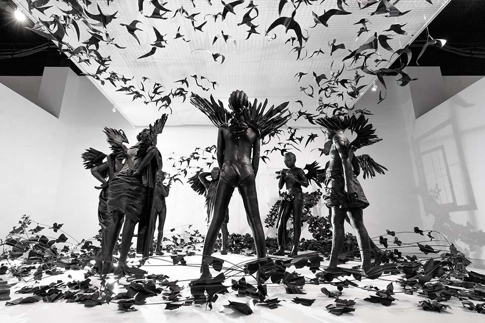 Flying Girls by Peju Alatise